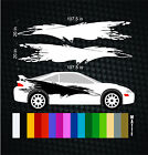 Mitsubishi Eclipse Vinyl Side Graphics Decal Sticker - Paul Walker Fast Furious