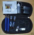 CE4 Clearomizers 2Pack 1100 mAh Battery Vaporizer Pen + Charger Starter Kit