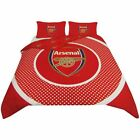 Double Duvet Set Reversible Quilt Cover Two Pillow Case Official Football Gift