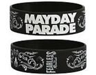 AUGUST BURNS RED bullet for my valentine MAYDAY PARADE opeth - RUBBER WRISTBAND