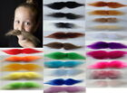 Handlebar moustache in natural colours very sticky with tape, easy to secure