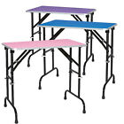 Master Equipment Grooming Table For Dogs Pets Cats Adjustable Non- Slip 3 Colors