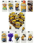 DESPICABLE ME 2 MINIONS TPU GEL CASE COVER FOR IPHONE 5 5S