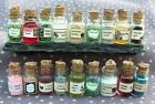 dolls house Potion Bottles Witch Wizard Spooky Halloween Miniatures