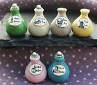 Dolls house  Witch Potion Bottles Wizard Spooky Halloween Miniatures Set 3