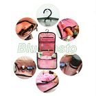 Women Men Hanging Travel Cosmetic Makeup Toiletry Orgarnizer Storage Wash Bag BL