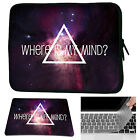 Waterproof Laptop Sleeve Case Bag+Mouse Pad+Keyboard Cover For  Macbook Pro/Air