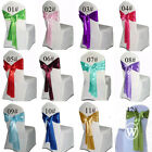 "20 pcs Satin Chair Sash 6""x108"" Wedding Party Banquet Bow Craft Decoration"