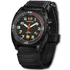 Mtm Falcon Black Steel Special Ops Unisex Watch One Size