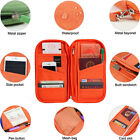 Travel Passport Credit ID Card Document Organiser Holder Purse Wallet Bag Case