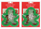 2 Wilton Gingerbread Boy Comfort Grip Cookie Cutters