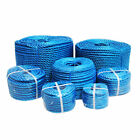 Blue Poly Rope Coils Polypropylene Polyrope, Events, Gardening, Camping, Fencing
