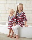 Mud Pie Boathouse Baby Whale Tunic Cover UP Dress 9M-5T #1142139 NWT