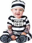 Time Out Prisoner Convict Jail Inmate Infant Toddler Baby Halloween Cute Costume