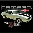 1969 CHEVY CAMARO Z28 T-SHIRT AMERICAN MUSCLE CARS CLASSIC CHEVROLET HOT ROD NEW