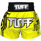 Tuff Muay Thai Boxing Yellow Shorts 202 Kick Boxing Training Free Shipping