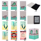 Elephant PU Leather Folio Case Cover For Amazon Kindle Paperwhite 1 2&3G Wifi