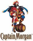 Captain Morgan Out Door Vinyl Decal Sticker Full Color 4 Sizes To Choose From