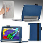 Premium PU Leather Case Magnetic Cover for Lenovo Yoga Tablet 2 8-In Sleep/Awake