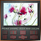 Poppy Canvas Flower Floral Wall Art Deco More Color & Style & Size