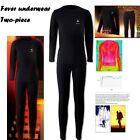 Mens THERMAL UNDERWEAR SET Patented brushed functional thermal underwear