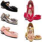 Girls Sandals Kids children glitter wedding party evening Party shoes size 7-3