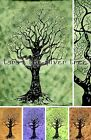 -35% GREEN TREE Natural THROW Sofa BEDSPREAD Wall hanging Double UK Supplier