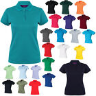 New HENBURY Ladies Coolplus Polo-Shirt in 10 colours S - XXL