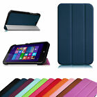 Flip PU Leather Case Cover for HP Stream 7 Windows 8.1 Tablet (Model 5701/5709)