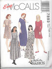 McCall's 7893 Misses' Dress in Two Lengths - Sewing Pattern