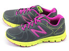 New Balance W690YG3 D Dark Grey & Fuchsia & Lime Lightweight Sports Running NB