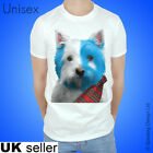 Brave Westie T-shirt Scotland Tshirt William Wallace Scotty Dog Tartan Scottish