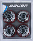 Bauer XR3 Indoor 76A Roller Hockey Wheel - 4 Pack