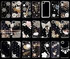 3D Bling Luxury Crystal Diamond Clear Hard Plastic Case Cover For iphone 4 5 6 7