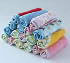 BULK Packs of Baby Face Washers Hand Towels Cotton Baby Kid Wash Cloth Assorted