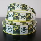 """GROSGRAIN GREEN BAY PACKERS 7/8"""" INCH RIBBON FOR HAIR BOWS DIY CRAFTS SHIPS FREE $5.59 USD on eBay"""