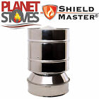 Stainless Steel Shieldmaster Anti-Wind Cowl For Twin Wall Insulated Flue Pipe