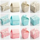 Luxury DIY Polka Dot Wedding Christening Baby Shower Favour Gift Boxes