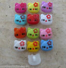 8 - Novelty Buttons - Hello Kitty - Shank Button - Baby/Kid's - Knitting/Sewing