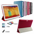 Slim PU Leather Case Stand Cover For Samsung Galaxy Tab 4 10.1 SM-T530 Tablet