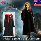 Unisex Harry Potter Gryffindor Adult CHILD Costume Robe Cloak CosplayFancy Dress