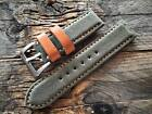 MILITARY   WATCH STRAP  WW2 CANVAS  for PAM MARINA LUMINOR