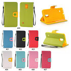 Magnetic PU Leather Wallet Flip Stand Case Cover Skin For Samsung Galaxy Note 4