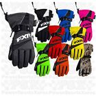 FXR Child Helix Race Snowmobile Gloves