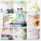 Bird Flowers Tree Home room Decor Removable Wall Sticker/Decal/Decoration