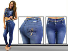 Colombian Design High Waist Rise Push-up Levanta Cola Butt Lift Skinny Jean G173