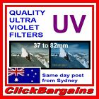 QUALITY UV, MC-UV & MRC-UV CAMERA LENS FILTERS for CANON NIKON SONY FUJIFILM etc