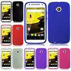 For Moto E LTE 2015 2nd Generation Thick Solid Flexible TPU Cover Case