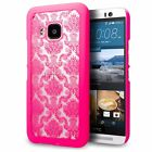 HTC One M9 Case Cimo Damask Design Pattern Premium Ultra Slim Hard Cover 2015
