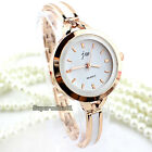 1Pcs Fashion Women's Alloy Band Quartz Analog Round Vintage Bracelet Wrist Watch